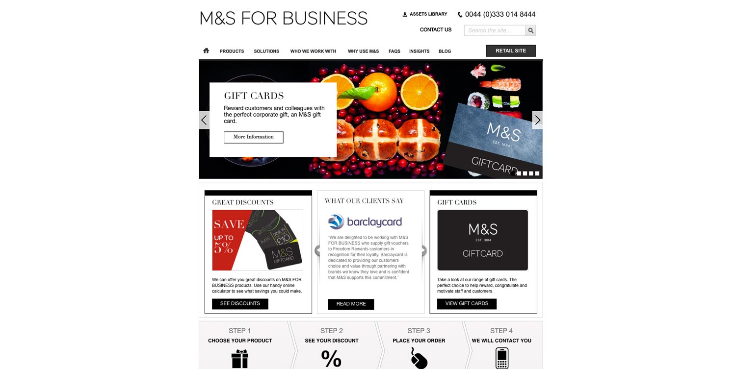 M&S For Business