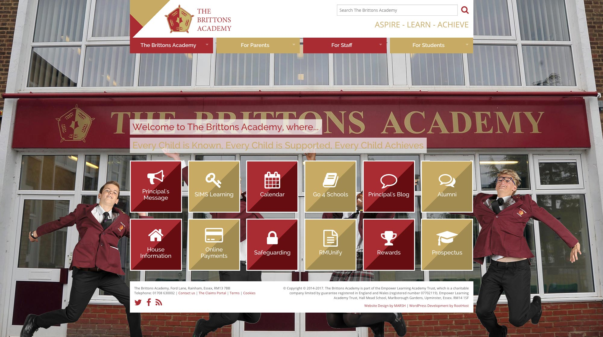 The Brittons Academy Home Page