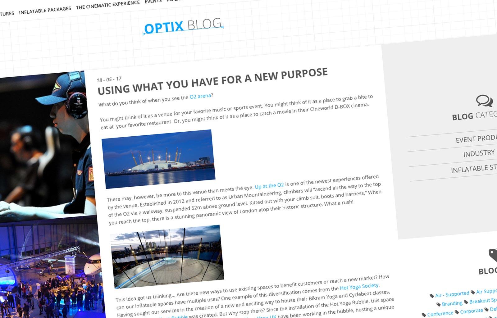 Optix Blog