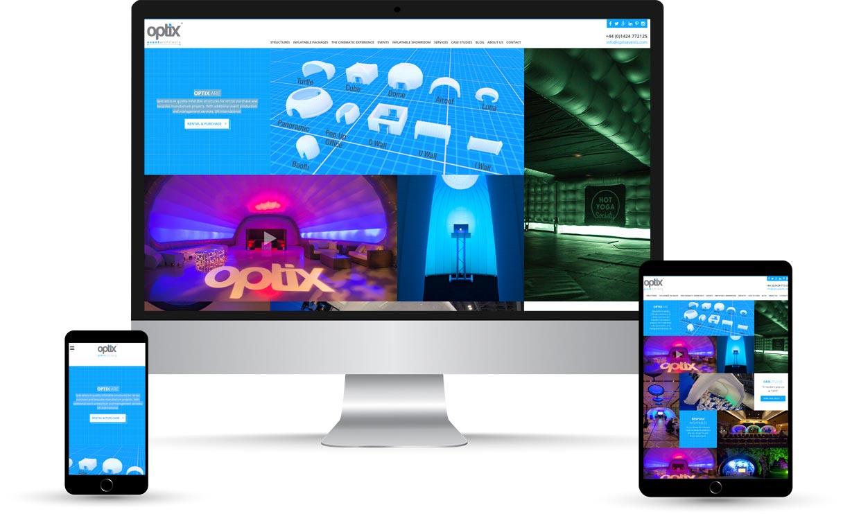 Optix Device Mockup