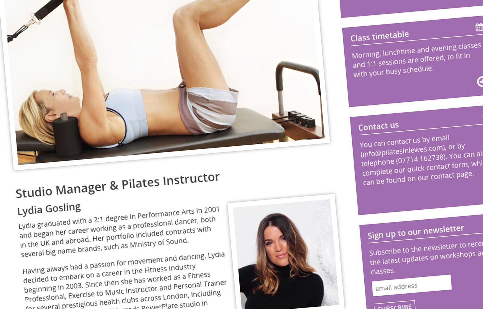 Pilates Lydia Gosling