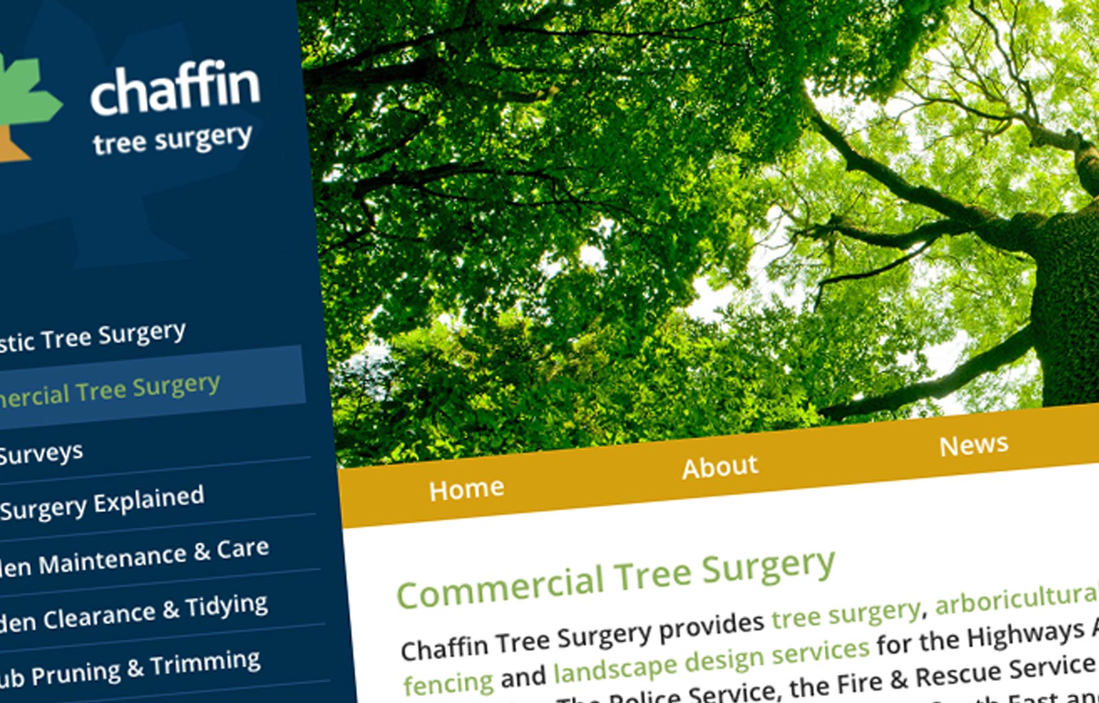 Chaffin Commercial Tree Surgery