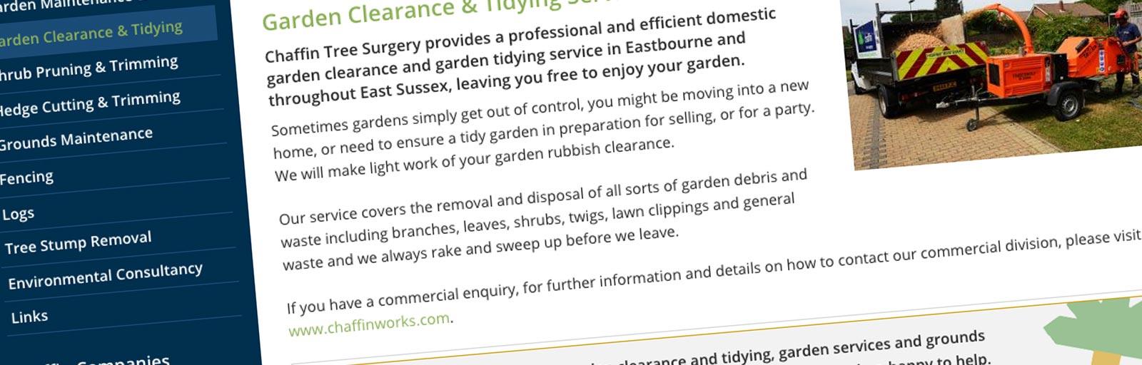 Chaffin Garden Maintenance