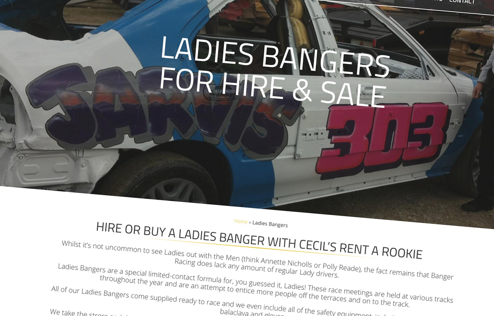 Cecil's Rent A Rookie Ladies Bangers