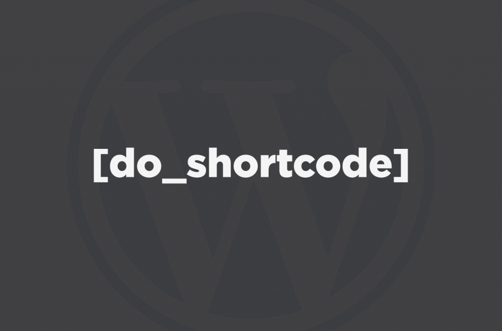 WordPress Shortcode in Template
