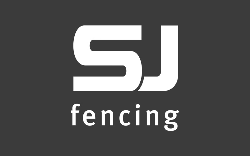 SJ Fencing Logo