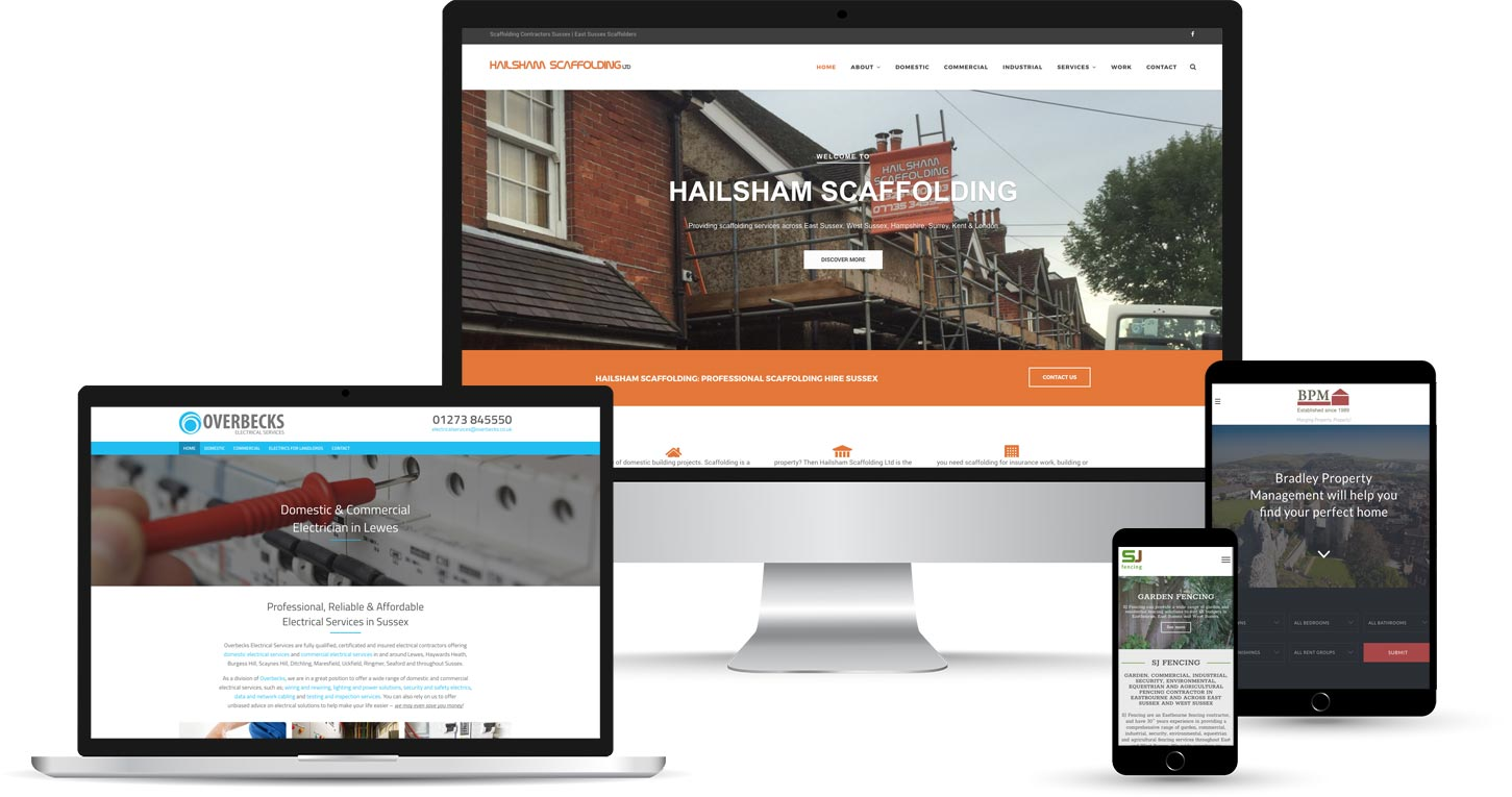 Small Business Web Design Sussex Startup Websites Flexx Creative